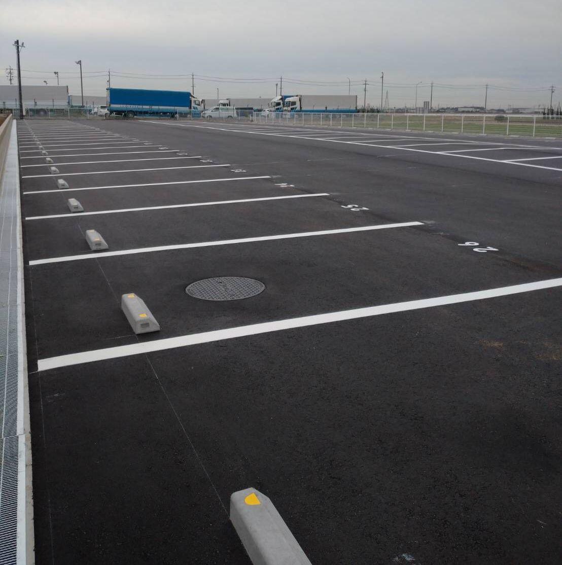 K運輸様駐車場整備工事